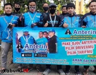 Aplikasi Ojek Online Anterin Hadir di Sukabumi Bebas Pilih Driver Ongkos Bisa Nego, Ada Lowongan Kerja Juga