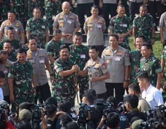 Rapim Petinggi TNI Polri Kawal Pembangunan Nasional dan Pilkada 2020