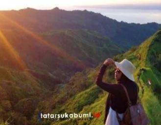 Spot Wisata Instagramable Gunung Koneng Geopark Ciletuh Resmi Ditutup