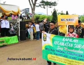 MTQ ke-44 Kabupaten Sukabumi Ajang Persiapan MTQ Jabar 2020