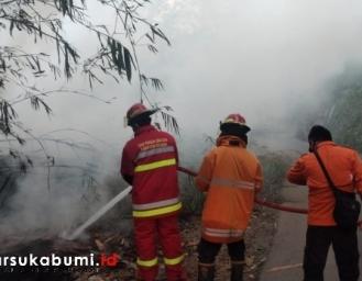 Kebakaran di Cikembar Sukabumi