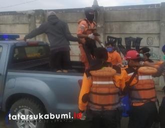 Breaking News : 2 Korban Tenggelam di Palabuhanratu Berhasil di Evakuasi