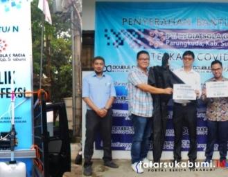 Pabrik Garmen di Parungkuda Sumbang APD Untuk Penanganan Covid-19 di 2 Rumah Sakit Sukabumi