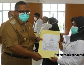 638 Mantan Honorer Kategori 2 Resmi Terima SK PPPK dari Bupati Sukabumi