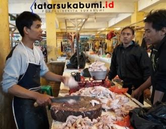 Harga Jual Ayam Potong di Sukabumi Anjlok Hingga 9 Ribu Perkilo