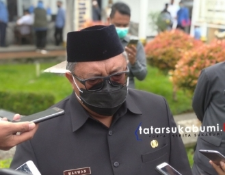 Sertijab Bupati Sukabumi Marwan Hamami Kepada Plh Zainul