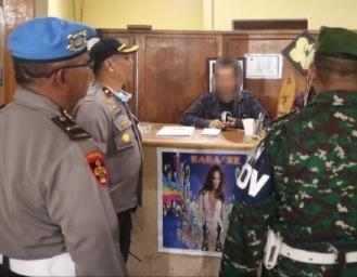 Polres Sukabumi Gelar Patroli Besar-besaran Imbau Masyarakat Tidak Keluar Rumah