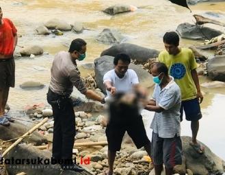 Bayi Perempuan Ditemukan di Leuwi Pariuk Sukabumi
