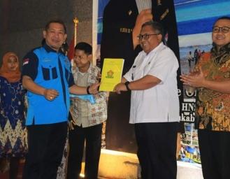 Pelantikan Ketua HNSI Sukabumi, Marwan : Tingkatkan Kesejahteraan Nelayan