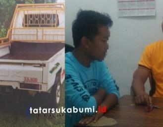 Pelaku Modus Gadai Mobil di Sukabumi Dibekuk Polisi di Pandeglang Banten