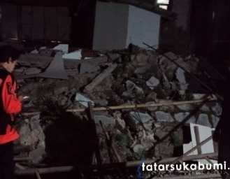 Gempa Sukabumi Picu Robohnya 2 Bangunan Rumah di Bantargadung
