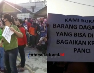 Diwarnai Aksi Bakar Petasan, Karyawan PT Younghyun Star Cibadak Tuntut Pembayaran THR Tidak Dicicil