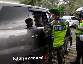 Hari Pertama Pemberlakuan PSBB Sukabumi, Wahab : Bandung - Sukabumi 4 Kali Dihentikan