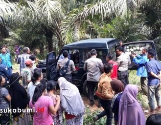 Temu Mayat Dalam Mobil Katana di Perkebunan Kelapa Sawit Cibadak Sukabumi