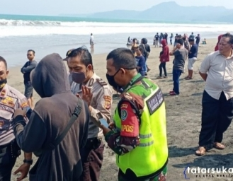 Basarnas dan SARDa Turunkan Tim Evakuasi Korban Tenggelam Warga Jawa Tengah di Palabuhanratu Sukabumi