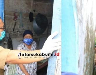 Blusukan Pantau Pendistribusian Bantuan Covid-19 Pemkab Sukabumi, Marwan: Tidak Boleh Ada Potongan