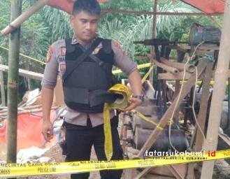 Polres Sukabumi Tutup dan Tertibkan Tambang Emas Ilegal di Sukabumi