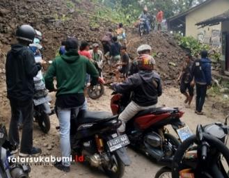 Kondisi Terkini! Akses Palabuhanratu Kiaradua Lumpuh Total Polisi Rekayasa Lalin