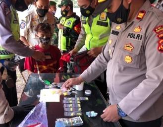 Pemuda Asal Cianjur Terjaring Operasi PPKM di Sukabumi Polisi Temukan Obat Terlarang