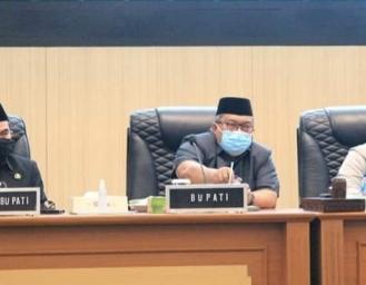 Raperda Pertanggungjawaban Pelaksanaan APBD Kabupaten Sukabumi Selesai di Paripurnakan