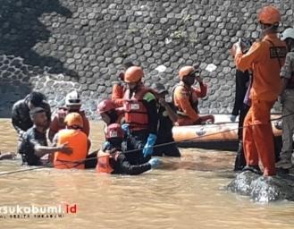 Dua Jenazah Korban Tenggelam di Bendungan Cikanteh Ciemas Sukabumi Ditemukan