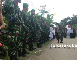 Prajurit TNI Kodim 0622 Sukabumi Gugur, Masyarakat Angkat Pahlawan Perangi Covid-19
