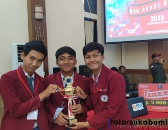 Forum Pelajar Sadar Hukum Kabupaten Sukabumi Raih Prestasi di Tingkat Jabar