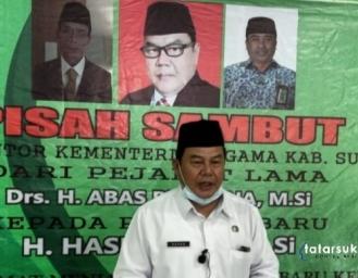 Pisah Sambut Kepala Kemenag Kabupaten Sukabumi