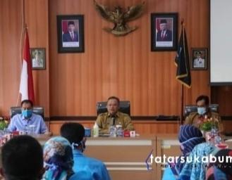 Gani Muhamad Minta Perumda AMTJM Sukabumi Tingkatkan Teknologi