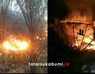 7 Hektare Lahan Produktif di Cidadap Terbakar Api Berkobar Hingga 7 Jam