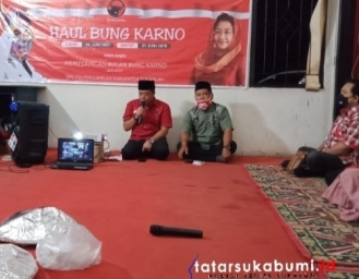 Haul Bung Karno dan Istigosah Pandemi Covid-19 PDI Perjuangan Kabupaten Sukabumi