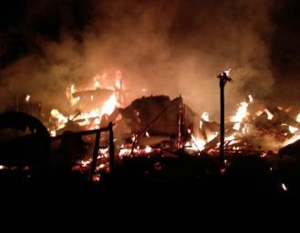 Pabrik Furniture di Cikembar Sukabumi Terbakar