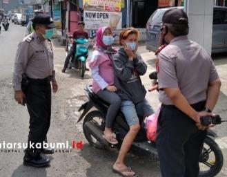 Operasi Yustisi dan Knalpot Racing Polsek Gunungguruh Polres Sukabumi Kota