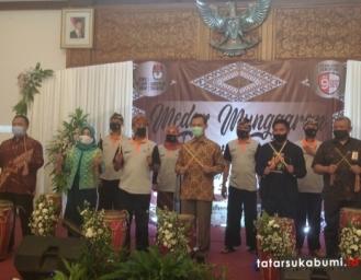 KPU Tabuh Genderang Tanda Pelaksanaan Pilkada Sukabumi 2020 Bergulir