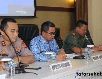 Forkopimda Kabupaten Sukabumi Evaluasi Pilkades 2019 dan Bahas Pilkada 2020