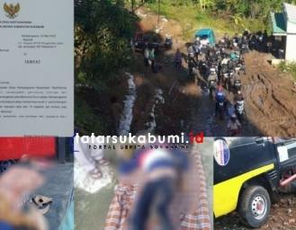 Nasib Jalan Rusak Desa Kertaangsana Nyalindung Kabupaten Sukabumi Pasca Rusak Tahun Lalu