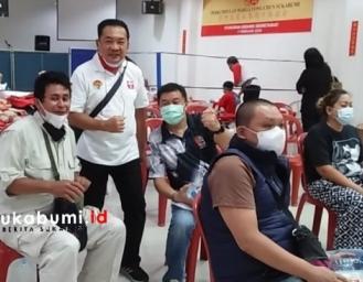 Baksos Donor Darah Perhimpunan Indonesia Tionghoa dan Komunitas Tionghoa Sukabumi
