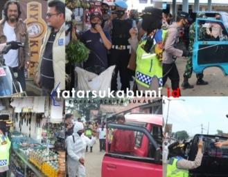 Operasi Yustisi Serentak di Wilayah Hukum Polres Sukabumi Kota