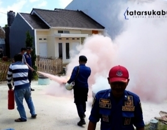 Pertama di Sukabumi Perumahan Gunung Walat Green Hill Cibadak Latih Warga Jadi Pemadam Kebakaran