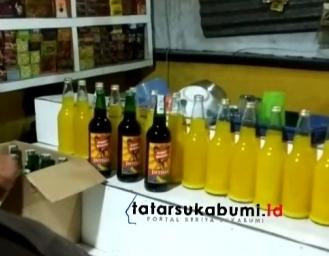 Polsek Cibadak Gerebek Penjual Miras Modus Warung Sembako Depot Jamu Hingga Rumah Kost