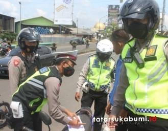 Operasi Zebra Lodaya 2020 Polres Sukabumi Kota Ini 3 Kriteria Pelanggar yang Akan di Tindak