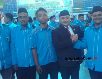 Pelantikan 45 PK KNPI Kabupaten Sukabumi, Pemuda Bersinergi Dengan Stakeholder Pemerintah