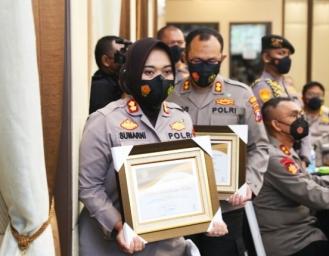 Polres Sukabumi Kota Raih Penghargaan Capaian IKPA Terbaik Kemenkeu RI