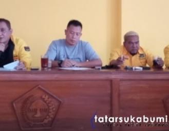 Partai Golkar Rapatkan Barisan Bahas Strategi Kemenangan Pilkada Sukabumi