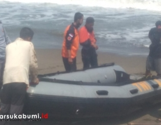 Kapal Karam di Perairan Pantai Selatan Palabuhanratu, Jenazah Nelayan Berhasil Ditemukan