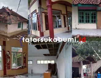 Kondisi Terkini Gempa di Sukabumi, Lampu Padam Masjid Rumah dan Ponpes Rusak