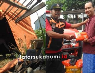 Atap Rutilahu di Cikole Sukabumi Ambruk, Keluarga Korban Ngungsi di Masjid