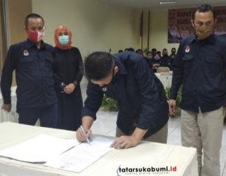 KPU Resmi Ketuk Palu Jumlah Daftar Pemilih Tetap Pilkada Sukabumi 2020