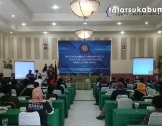 Muscab Pertama Diaga Muda Indonesia, Dewex Sapta : Kita Mitra Kerja Sekaligus Mitra Kritis Pemerintah