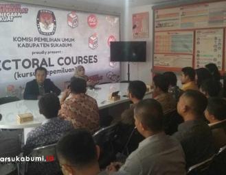 Kursus Kepemiluan KPU Kabupaten Sukabumi